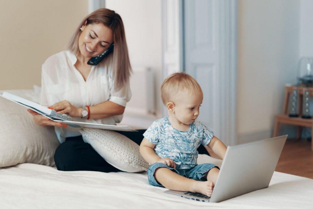 8 dicas para conciliar o home office com os filhos pequenos